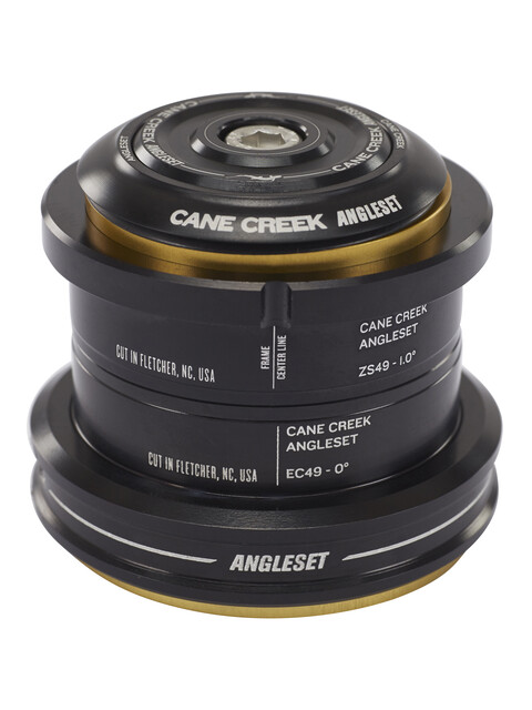 Cane Creek Winkel Steuersatz 1° ZS49/28.6 I EC49/40 schwarz